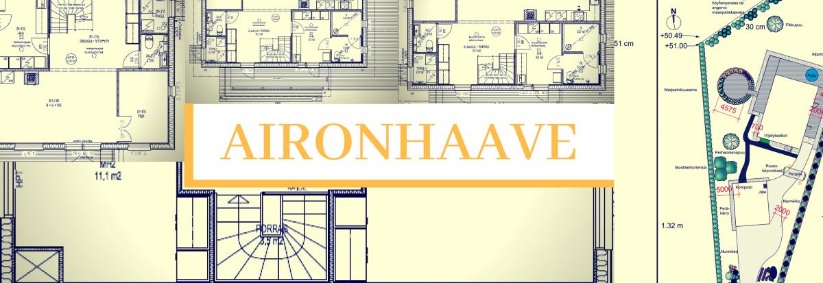 AironHaave, koti Pioneeripuistoon